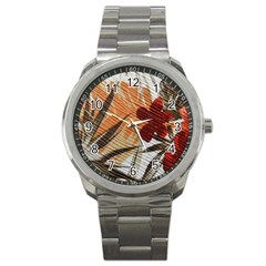 Fall Colors Sport Metal Watch by Nexatart