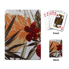 Fall Colors Playing Card by Nexatart