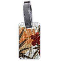 Fall Colors Luggage Tags (two Sides) by Nexatart