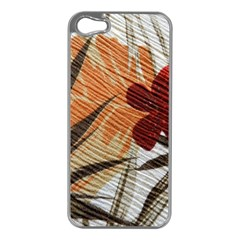 Fall Colors Apple Iphone 5 Case (silver) by Nexatart