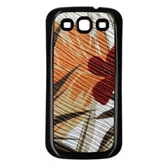 Fall Colors Samsung Galaxy S3 Back Case (black) by Nexatart