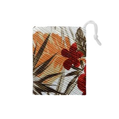 Fall Colors Drawstring Pouches (small)