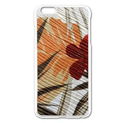 Fall Colors Apple Iphone 6 Plus/6s Plus Enamel White Case