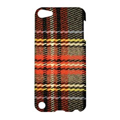 Fabric Texture Tartan Color Apple Ipod Touch 5 Hardshell Case