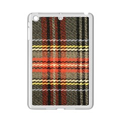 Fabric Texture Tartan Color Ipad Mini 2 Enamel Coated Cases by Nexatart