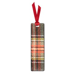 Fabric Texture Tartan Color Small Book Marks