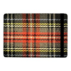 Fabric Texture Tartan Color Samsung Galaxy Tab Pro 10 1  Flip Case