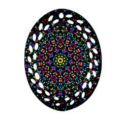 Fractal Texture Ornament (oval Filigree)