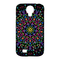 Fractal Texture Samsung Galaxy S4 Classic Hardshell Case (pc+silicone)