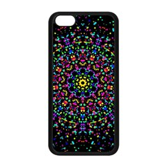 Fractal Texture Apple Iphone 5c Seamless Case (black)
