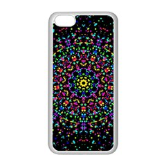 Fractal Texture Apple Iphone 5c Seamless Case (white)