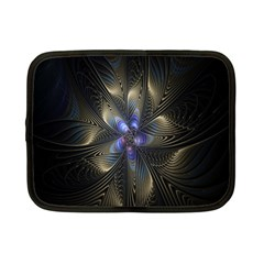 Fractal Blue Abstract Fractal Art Netbook Case (small)