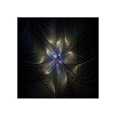 Fractal Blue Abstract Fractal Art Acrylic Tangram Puzzle (4  X 4 )
