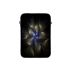 Fractal Blue Abstract Fractal Art Apple Ipad Mini Protective Soft Cases