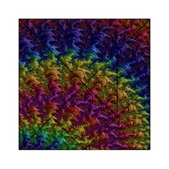 Fractal Art Design Colorful Acrylic Tangram Puzzle (6  x 6 ) by Nexatart
