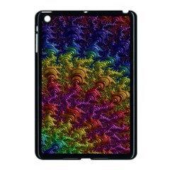Fractal Art Design Colorful Apple Ipad Mini Case (black) by Nexatart