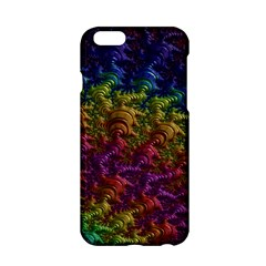 Fractal Art Design Colorful Apple Iphone 6/6s Hardshell Case by Nexatart