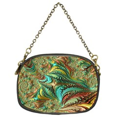 Fractal Artwork Pattern Digital Chain Purses (one Side)