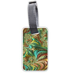 Fractal Artwork Pattern Digital Luggage Tags (two Sides)