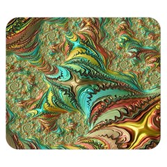 Fractal Artwork Pattern Digital Double Sided Flano Blanket (small)  by Nexatart