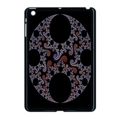 Fractal Complexity Geometric Apple Ipad Mini Case (black) by Nexatart