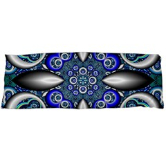 Fractal Cathedral Pattern Mosaic Body Pillow Case Dakimakura (two Sides) by Nexatart