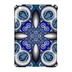 Fractal Cathedral Pattern Mosaic Apple Ipad Mini Hardshell Case (compatible With Smart Cover)
