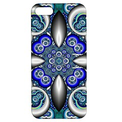 Fractal Cathedral Pattern Mosaic Apple Iphone 5 Hardshell Case With Stand