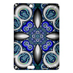 Fractal Cathedral Pattern Mosaic Amazon Kindle Fire Hd (2013) Hardshell Case by Nexatart