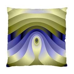 Fractal Eye Fantasy Digital Standard Cushion Case (two Sides) by Nexatart