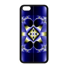 Fractal Fantasy Blue Beauty Apple Iphone 5c Seamless Case (black)
