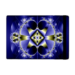 Fractal Fantasy Blue Beauty Ipad Mini 2 Flip Cases
