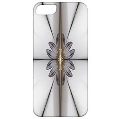 Fractal Fleur Elegance Flower Apple Iphone 5 Classic Hardshell Case
