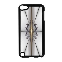 Fractal Fleur Elegance Flower Apple Ipod Touch 5 Case (black)