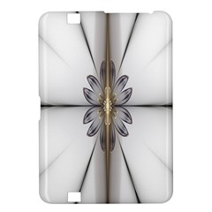 Fractal Fleur Elegance Flower Kindle Fire Hd 8 9