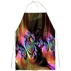 Fractal Colorful Background Full Print Aprons