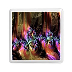 Fractal Colorful Background Memory Card Reader (square)