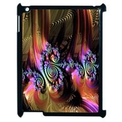 Fractal Colorful Background Apple Ipad 2 Case (black)