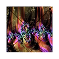 Fractal Colorful Background Acrylic Tangram Puzzle (6  X 6 )
