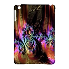 Fractal Colorful Background Apple Ipad Mini Hardshell Case (compatible With Smart Cover)