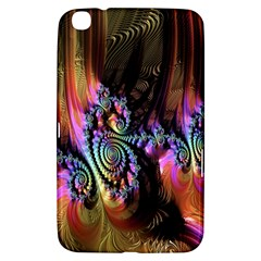 Fractal Colorful Background Samsung Galaxy Tab 3 (8 ) T3100 Hardshell Case