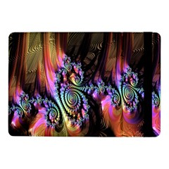 Fractal Colorful Background Samsung Galaxy Tab Pro 10 1  Flip Case