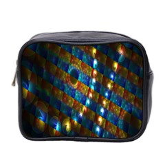 Fractal Art Digital Art Mini Toiletries Bag 2 Side