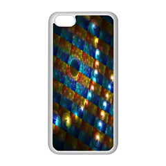 Fractal Art Digital Art Apple Iphone 5c Seamless Case (white)