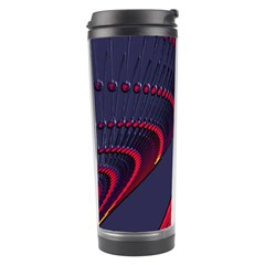 Fractal Art Digital Art Travel Tumbler by Nexatart