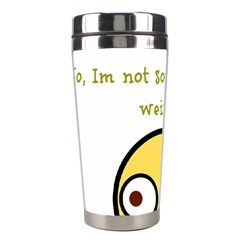 Weirdo Stainless Steel Travel Tumblers by athenastemple