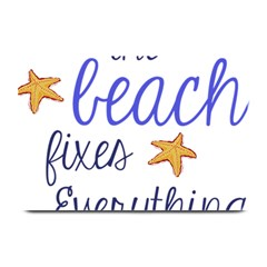 The Beach Fixes Everything Plate Mats by OneStopGiftShop
