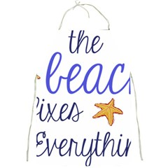 The Beach Fixes Everything Full Print Aprons by OneStopGiftShop