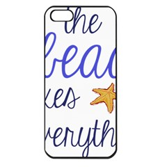 The Beach Fixes Everything Apple Iphone 5 Seamless Case (black) by OneStopGiftShop