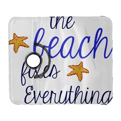 The Beach Fixes Everything Galaxy S3 (flip/folio) by OneStopGiftShop
